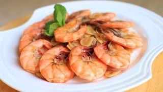 How To Make Garlic And Ginger Shrimp / Shrimp Recipe /蒜香虾