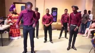 Congolese party in Bradford just a powerdanceMrJohn