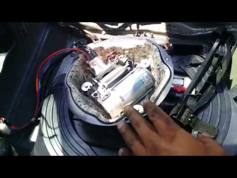 BMW E53 X5 Rear Suspension Airbag Removal Part 2 - YouTube