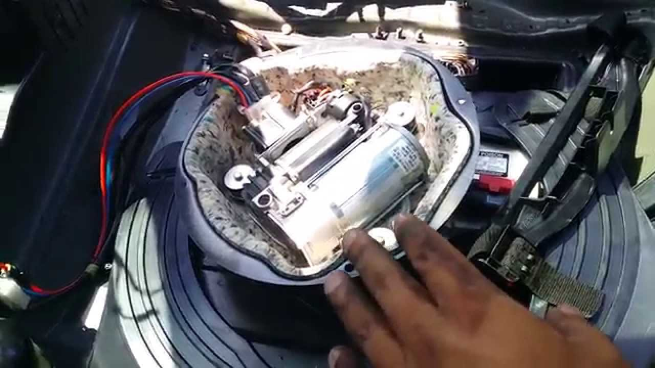 2008 Chevy Silverado Fuse Diagram Bmw E53 X5 Rear Suspension Airbag Removal Part 2 Youtube