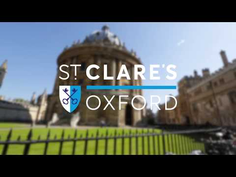 Adult courses at St. Clare's Oxford