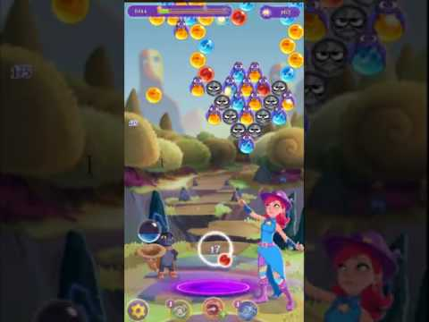 Bubble Witch 3 Saga Level 104 ~ 3 stars ~ no boosters