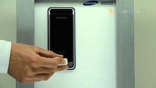 Накладной карточный электронный замок Samsung SHS-2920/SHS-1321 обзор(, 2014-05-31T15:34:09.000Z)