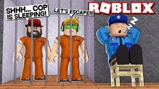 ROBLOX MAD CITY JAIL OBBY / LET'S ESCAPE THIS STINKY PRISON