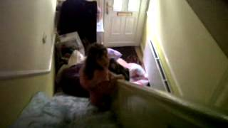 Download Video Hahaha Abbie and Jessica Sliding Down My Stairs xxx MP3 3GP MP4