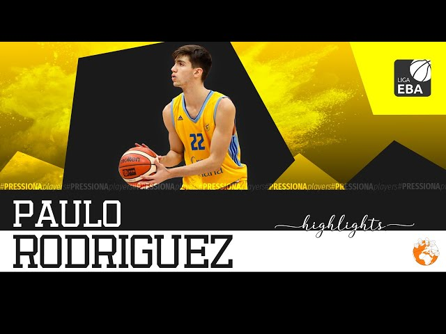 Paulo Rodríguez Highlights 2019-20 EBA