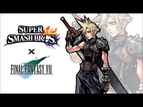 Super Smash Bros. 4 - Final Fantasy 7 Battle theme (Unofficial)