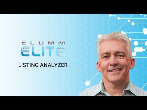 Ecomm Elite - Listing Lab - Listing Analyzer