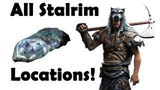 Skyrim: Where to get Stalhrim, All  Locations (Mining Guide)