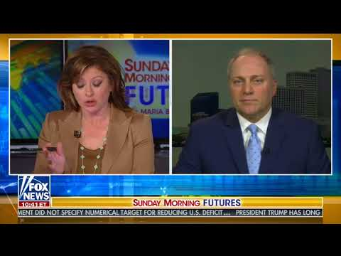 STEVE SCALISE FULL ONE-ON-ONE INTERVIEW WITH MARIA BARTIROMO (5/20/2018)