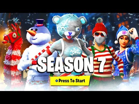FORTNITE SEASON 7 BATTLEPASS SKINS & REWARDS LEAKED! (NEW FORTNITE SEASON 7 ITEMS & UNLOCKS LEAKED)!