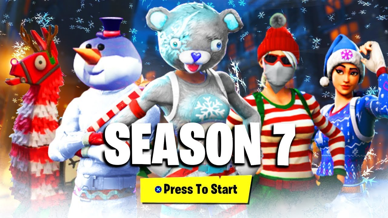 Fortnite Season 7 Battlepass Skins Rewards Leaked New Fortnite