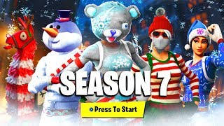 FORTNITE SEASON 7 BATTLEPASS SKINS & REWARDS LEAKED! (NEUE FORTNITE SEASON 7 ITEMS & UNLOCKS LEAKED)!