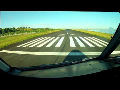 A340 - Tahiti Faa\'a - NTAA 22 takeoff