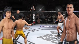 Bruce Lee Vs Muhammad Ali 2 MONUMENTAL REMATCH!!!   EA Sports UFC 3