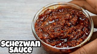 Schezwan Sauce recipe in hindi | How to make Schezwan Sauce | सेजवान सॉस बनाने का तरीका