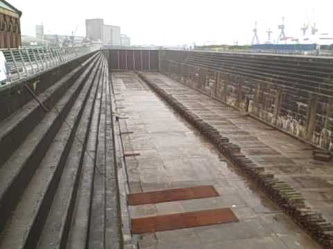 Titanic Flotation Dock, Harland & Wolff Shipyard, Belfast, 30/8/09