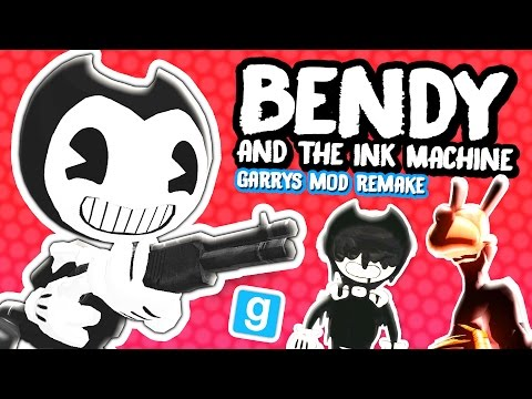 Thumbnail: BENDY AND THE INK MACHINE CHAPTER 3 - Guns, Garry's Mod Remake