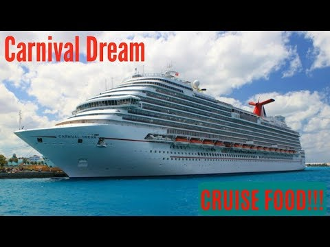 CARNIVAL DREAM: CRUISE FOOD - Ready to get hungry???