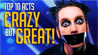 Top 10 CRAZY Acts That ACTUALLY Made It Far on America's Got Talent!