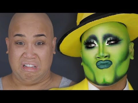 THE MASK MAKEUP TRANSFORMATION | PatrickStarrr thumbnail