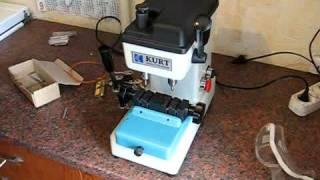 Изготовление ключей типа волна на станке Kurt PN 80
