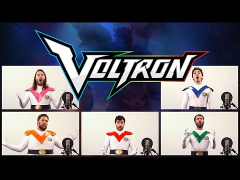 VOLTRON LEGENDARY DEFENDER THEME SONG ACAPELLA