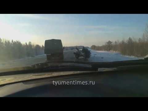 Последствия ДТП трасса Тюмень - Ханты-Мансийск, 602 км., Куть-Ях