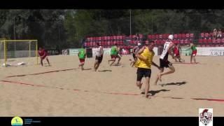 LegionXXI - Волынская обл. (обзор голов) Пляжный гандбол, мужчины Чемпионат Украины
