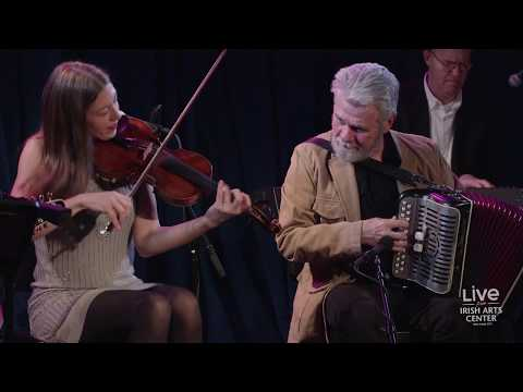 Mick Moloney and Athena Tergis: In Residence with the Green Fields of America on April 7, 2018.