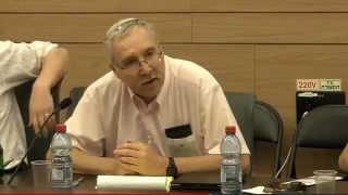 Prof. Gerald Steinberg, addressing MK Wilf