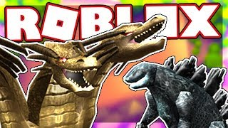 HOW TO GET THE GODZILLA COMPANION AND THE GHIDORAH HEAD | Roblox