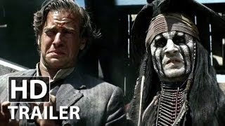 The Lone Ranger - Trailer (Deutsch | German) | HD | Johnny Depp