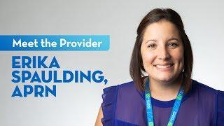 Meet erika spaulding, a nurse practitioner at st. elizabeth.learn more about aocnp: http://bit.ly/spaulding-aprn.