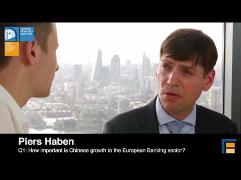 The Chinese Slowdown: A Risk to European Banks? | Piers Haben - European Banking Authority