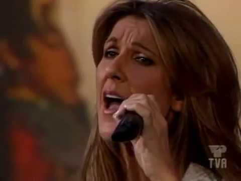Celine Dion - Je Ne Vous Oublie Pas (Live á L'ecole Des Fan - 2005) HQ