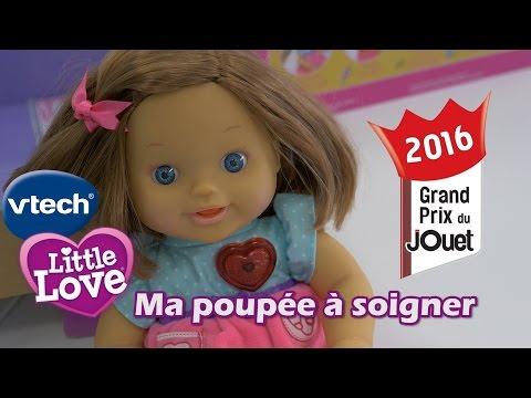 Vtech Little Love : Ma poupée à soigner - Démo en français du poupon interactif