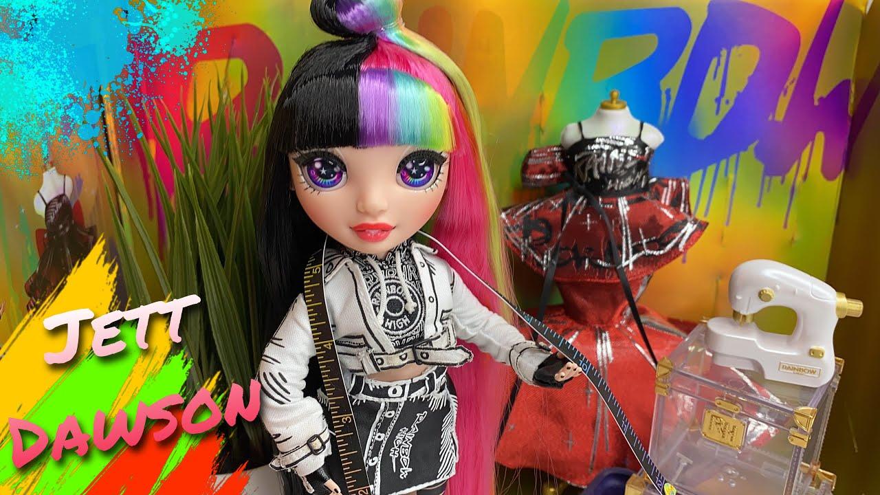 Rainbow High Jett Dawson Collector Doll Review!  Zombiexcorn