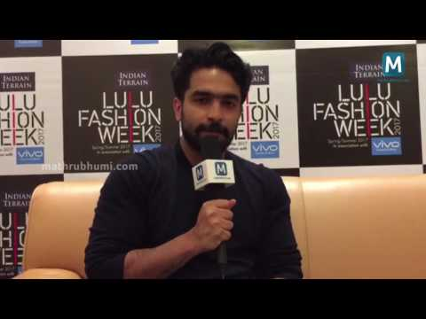 Siddharth Menon | Celeb Interview | Lulu Fashion Week 2017