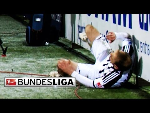 Bundesliga bloopers - funny moments from matchday 16