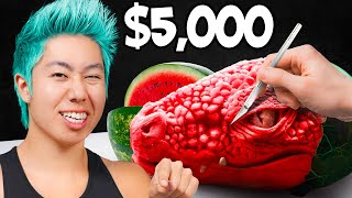 Best Watermelon Art Wins $5,000 Challenge! | ZHC Crafts