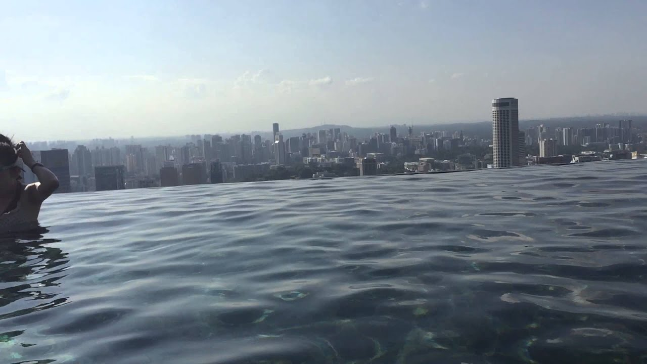 Singapore infinite pool hotel marina bay sands piscina cingapura hotel marina bay sands youtube - Singapore hotel piscina ...