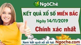 KQXSMB 14/11/2019 - XSMB - Xổ số miền Bắc ngày 14 tháng 11 năm 2019 - Xổ số miền Bắc thứ 5 hàng tuần