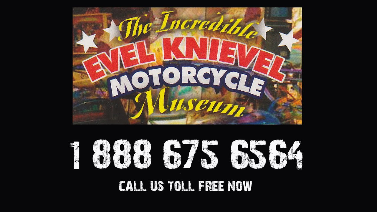Evel Knievel Motorcycle Museum For Sale YouTube - Museums for sale in us