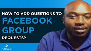 Wie Hinzufügen von Fragen zu Facebook-Gruppe Anfragen?