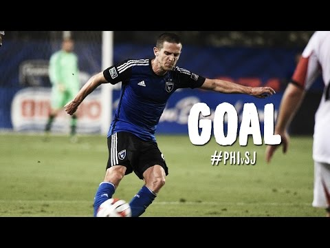 GOAL: Sam Cronin rips a volley from distance   Philadelphia Union vs. SJ Earthquakes
