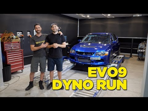 Real Dyno vs Supplied Dyno Sheet - EVO 9