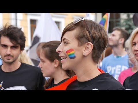 Житомир.info   Новости Житомира: Представники ЛГБТ-спільнот Житомира приєдналися до Маршу рівності у Києві - Житомир.info