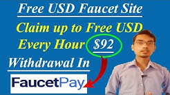 Earn Up to 92$ Every Hour | Free Usd Faucet Site | Payment in FaucetPay |