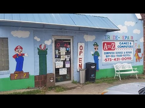 A-Z Gamez and Computers: Retro Video Game Store Tour